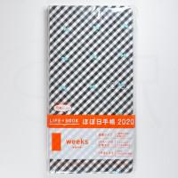 Hobonichi Weeks January 2020 - Mint Ribbons