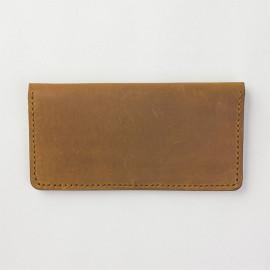 Traveler's Factory Leather Long Wallet - Camel (07100-558)
