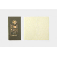"TRAVELER'S Notebook Refill for Regular Size KYOTO EDITION ""Washi Green Tea Leaf"""